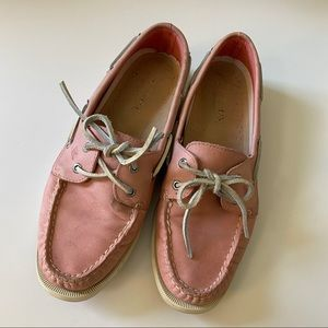 Sperry Pink Boaters (Loved)